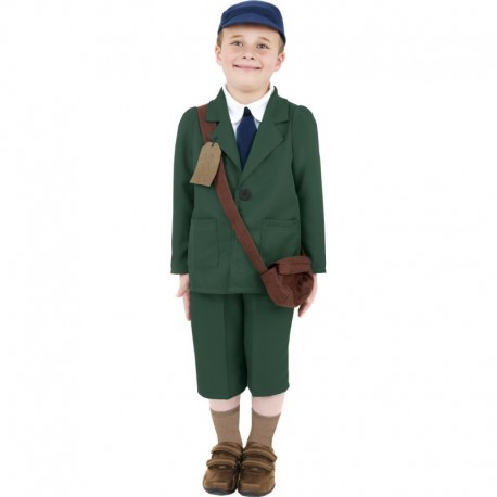 World War II Evacuee Boy