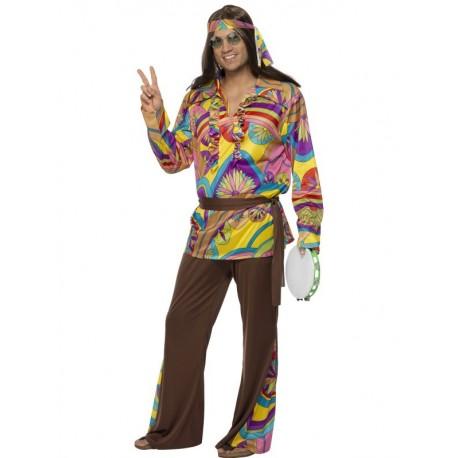 Psychedelic Hippie Man