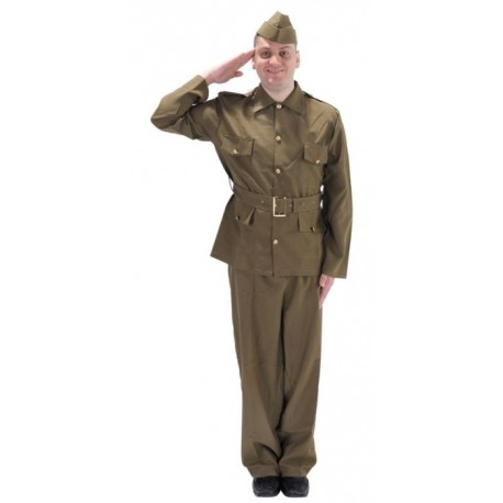 British WW2 Soldier Costume